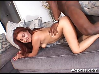 Amateur latina black stuffing