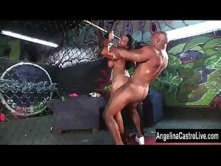 Angelina castro bbc cage showdown