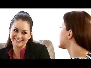 LesbianCums.com: Naughty Lesbian Threesome Sluts