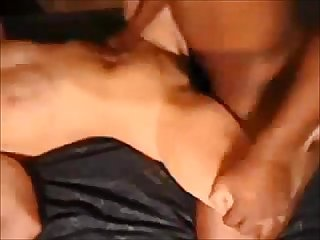 Hubby goes next after bbc creampie