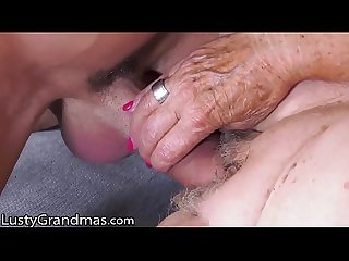 LustyGrandmas He Skips His Rent By Fucking His GILF Landlady