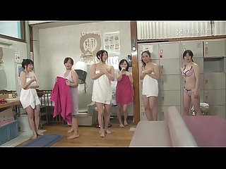 41ticket old guy stops time and fucks Frozen babes in spa uncensored jav