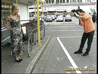 German milf pickup for anal sex