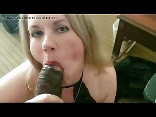 PERFECT BLOWJOB FROM A WHITE MILF
