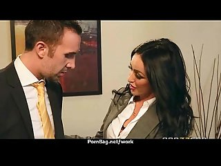 Office assistant getting fucked hard 24