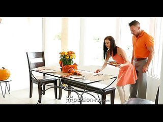 Passion hd guy fucks his step daughter Carolina sweets on thanksgiving