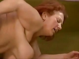 Granny bbw ildiko fucks young cock