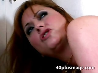 Janice fucked doggy style by boy