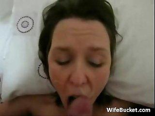 Watch My slutty Wife riding me