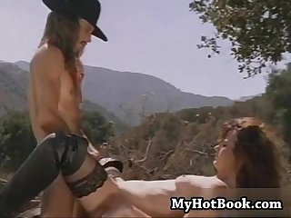 Brooke waters meets her wild west lover outdoors