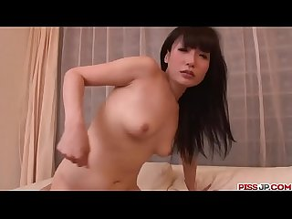 Tsukushi gives it a few spins before fucking with it - More at Pissjp.com