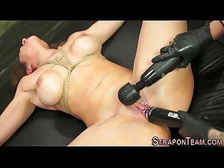 Shibari les slave toy