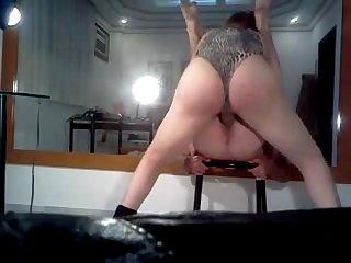 Amateur tgirl top bareback fucks creampies sub