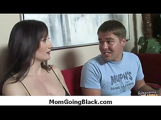 Black monster fucks my moms tight pussy 33