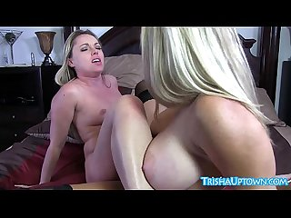 Trisha uptown lesbian scissors with sexy milf vicky vette excl