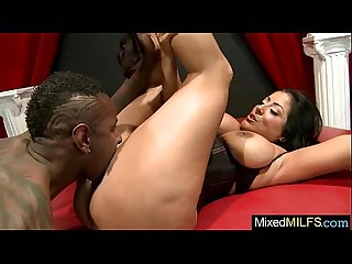 (kiara mia) Mature Lovely Lady Is Busy On Tape With Mamba Black Dick clip-12