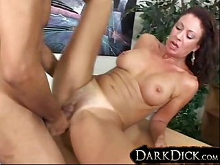 Black Cock-hungry Milf Vanessa Videl Gets plowed with a Big Black Dick Interracial