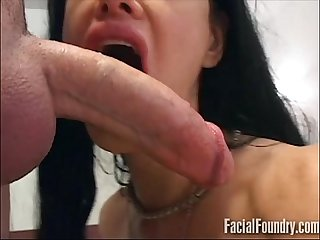 Milf deepthroating a big dick