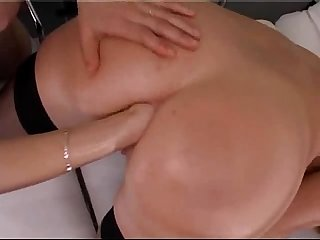 Blonde anal fisted