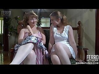 Flo mature and teen Alana Russian