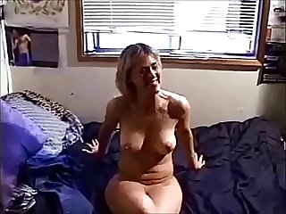 Amateur wife analized by younger boy