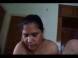 Indian telugu aunty and her friend threesome