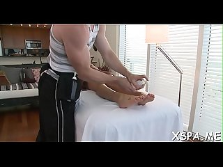 New Girl tries to make A precious impression during A massage