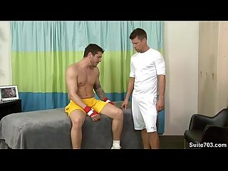 Jock braxton gets massaged and nailed by parker only on suite703