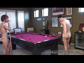 Gay Twink porn emo i found the folks playing some pool just lounging