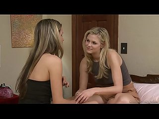 Mature blonde and Scarlet Red have lesbian sex - Girlfriends Films