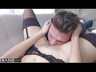 BANG Gonzo - Spanish Seductress Amarna Miller Fucked RAW