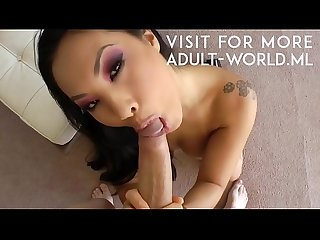 Asa Akira Fucked Hard and Massive Facial