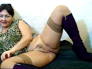 Russian hairy webcam mom pizda volosataya 4