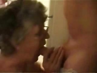 Having fun with my old slut period real amateur granny