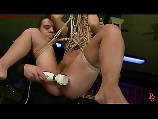 Enslaved adulterous.BDSM bondage sex movie.