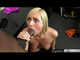 Black Cocks Matter - Teen Kate England rides her first BBC and cums