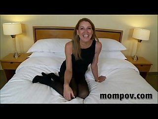 Hot milf fucking a young cock