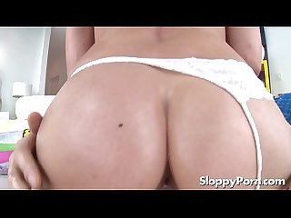 Wet young cowgirl Carolina Sweets