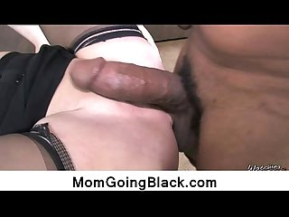 Interracial sex with sexy cougar 12