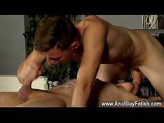 Free gay spa Movie reece has A jizz explosion in his fuck stick