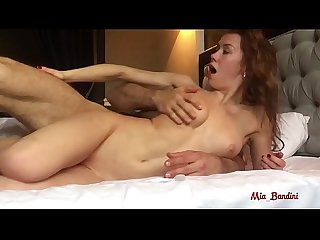 Rough sex in the hotel room cum inside me mia bandini