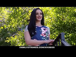 FamilyStrokes - Take My V-Card, Stepdaddy!