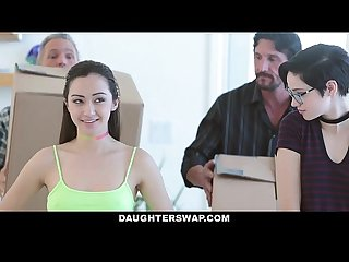 DaughterSwap - Hot Naive Teens Seduces & Tricked Into Fucking