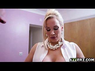 Busty milf rebecca moore enjoys anal fuck massage