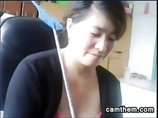 Chinese mother gets caught being naughty