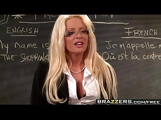 Brazzers - Big Tits at School - No Cock Left Behind scene starring Helly Mae Hellfire and Ramon