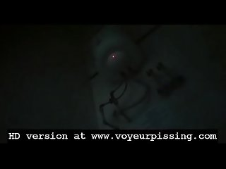 www.voyeurpissing.com - Four girls busted pissing in the female restroom from below