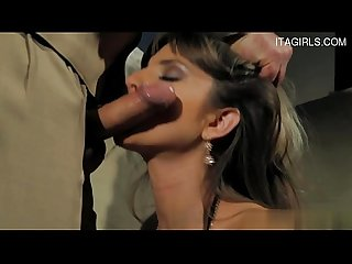 Exgirlfriend extreme throat