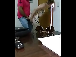 Boss fucked her in office room