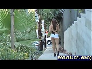 Elizabeth D period nude in public flashing hottie pt1